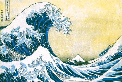 The Great Wave off Kanagawa Posters by Katsushika Hokusai