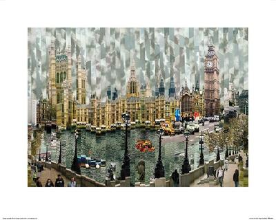 Londres II Poster by Serge Mendjisky