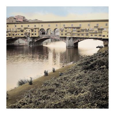 Ponte Vecchio 4 Prints by Alan Blaustein