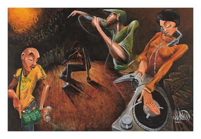The Get Down Art by David Garibaldi