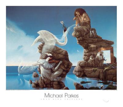 Swan Lake Posters by Michael Parkes