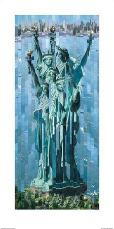 Statue de la Liberté Posters by Serge Mendjisky