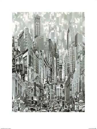 Uptown Loop Prints by Serge Mendjisky