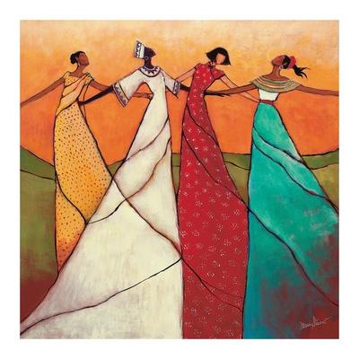 Sammenhold Plakat af Monica Stewart
