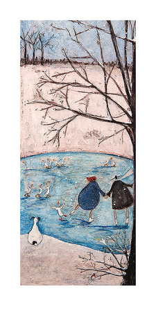 Vinter Posters af Sam Toft