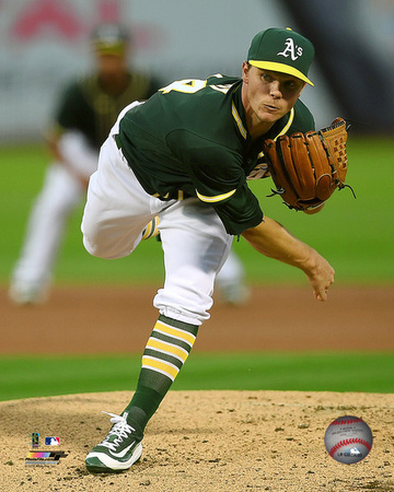 Sonny Gray 2016 Action Photo