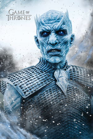 Game Of Thrones- Night King Poster