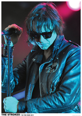 The Strokes- T In The Park 2011 Posters