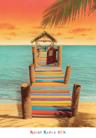 Tropicana Prints by Robin Renee Hix
