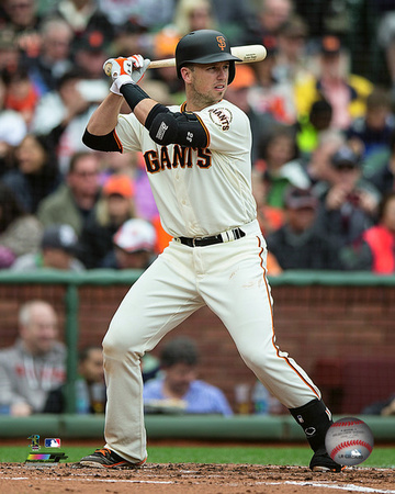 Buster Posey 2016 Action Photo