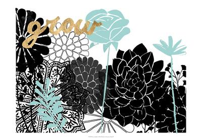 Lacy Garden I Prints by  Studio W