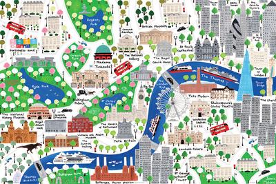 Jamie Malone- London Posters by Jamie Malone