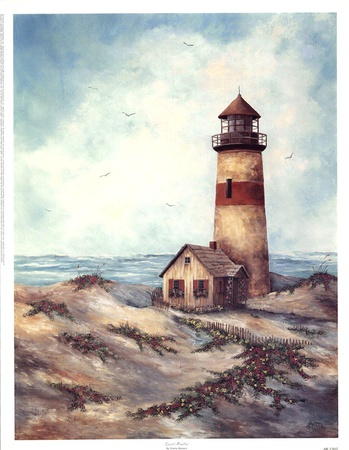 Quiet Harbor Prints by Sherry Masters