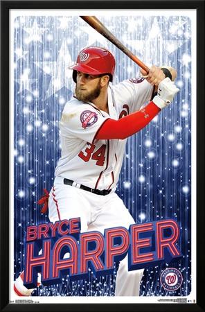 Washington Nationals- Bryce Harper 2016 Posters