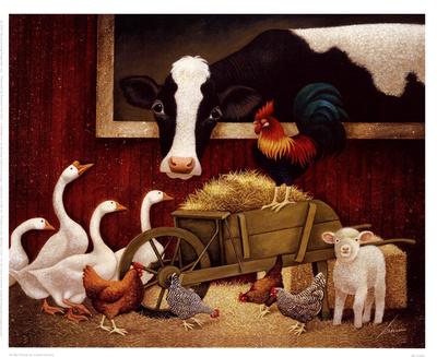 All My Friends Prints by Lowell Herrero