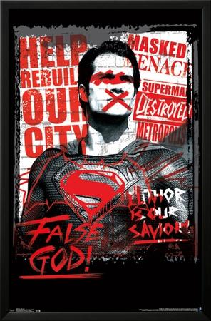 Batman vs. Superman - False God Posters