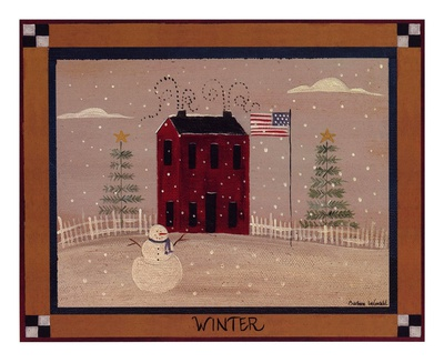 Winter In The Country Prints by Barbara Lovendahl