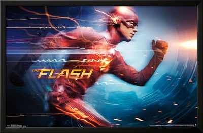 The Flash- Speed Dynamo Prints