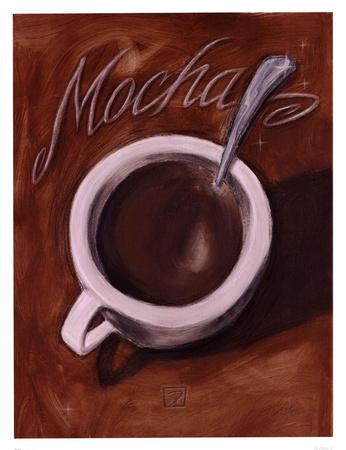 Mocha Print by Darrin Hoover