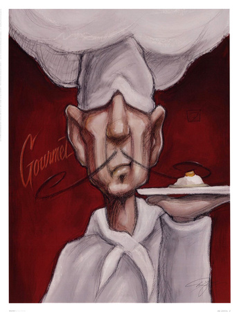 Gourmet Posters by Darrin Hoover