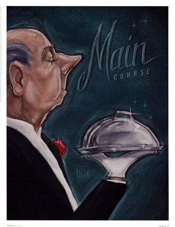 Main Course Posters by Darrin Hoover
