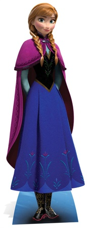 Frozen - Anna Mini Cardboard Cutout Figura de cartón