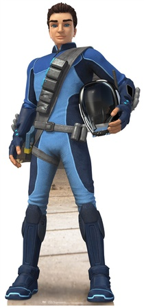 Thunderbirds - Scott Tracy Cardboard Cutout Cardboard Cutouts