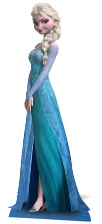 Frozen - Elsa Mini Cardboard Cutout Figura de cartón