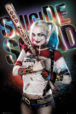 Suicide Squad- Harley Quinn Good Night Print