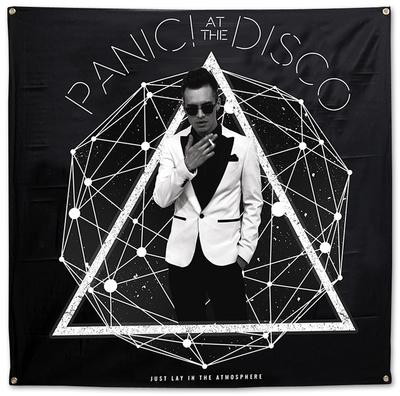 Panic! At The Disco- Photo Galaxy Flag アートポスター