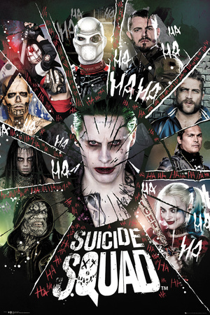 Suicide Squad- Circle Of Bad Pósters