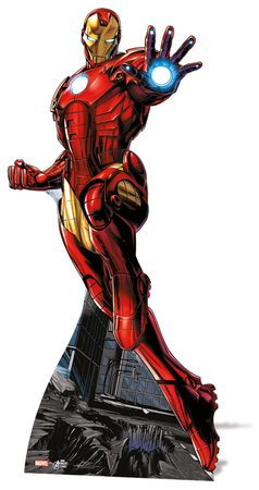 Iron Man - Avengers Assemble Cardboard Cutouts