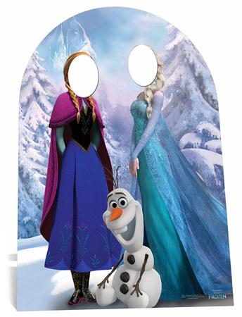 Frozen Stand In (Child-Sized) Figura de cartón