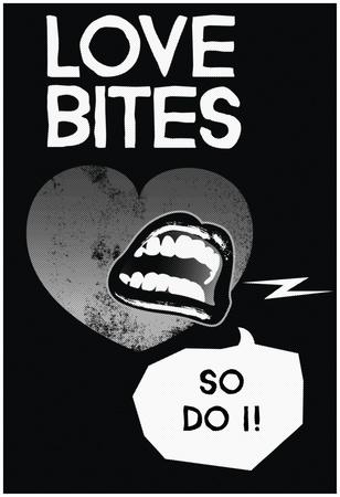 Love Bites Noir Posters