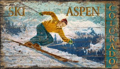 Aspen Wood Sign