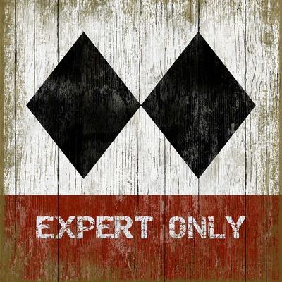 Expert 3 Wood Sign