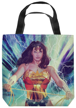 Justice League of America - Stormy Heroine Tote Bag Tote Bag