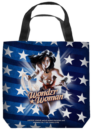 Justice League of America - Ripped Flag Tote Bag Tote Bag
