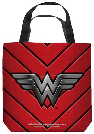 Justice League of America - Ww Emblem Tote Bag Tote Bag
