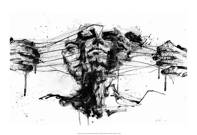 Drawing Restraints Posters by Agnes Cecile