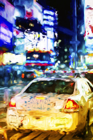 NYPD - In the Style of Oil Painting Giclee Print by Philippe Hugonnard