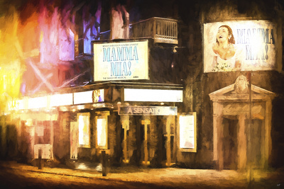 Broadway Sensation Giclee Print by Philippe Hugonnard