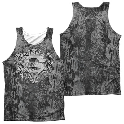 Tank Top: Superman- Unchain The King (Front/Back) Tank Top