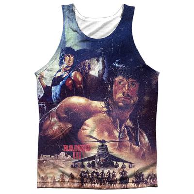 Tank Top: Rambo Iii- No Mercy Tank Top