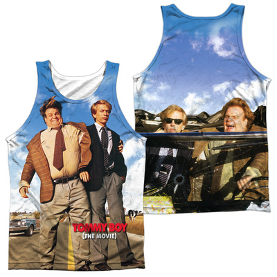 Tank Top: Tommy Boy- Poster (Front/Back) Tank Top