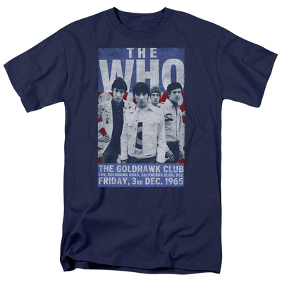 The Who- Goldhawk Club Poster T-shirts