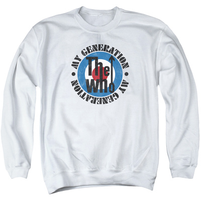 Crewneck Sweatshirt: The Who- My Generation Distressed T-Shirt