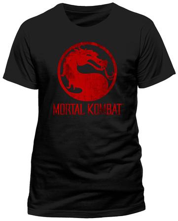 Mortal Kombat - Distressed Logo T-Shirts