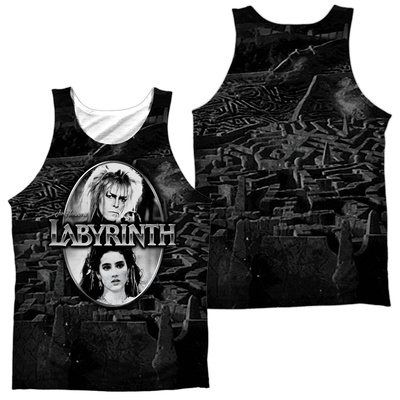 Tank Top: Labyrinth- Maze (Front/Back) Tank Top