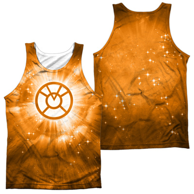 Tank Top: Green Lantern- Orange Energy (Front/Back) Tank Top